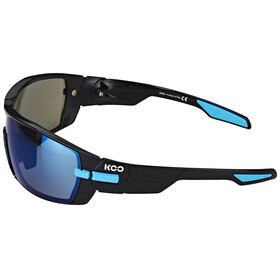 Kask KOO Sonnenbrille inkl. 2 Gläser Bluesky und Clear schwarz/hellblau